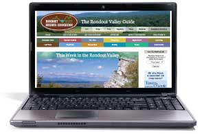 The Rondout Valley Guide is an efficient way to reach potential customers in the community.